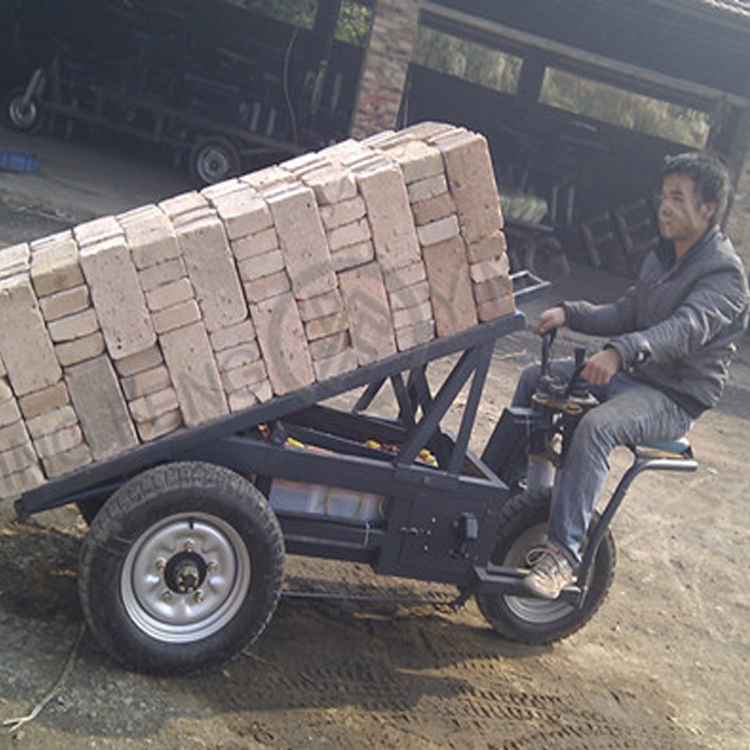 Finished Brick Delivery Cart