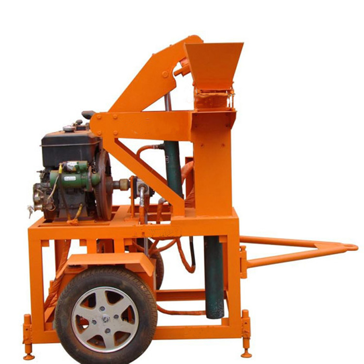 YF1-20 Interlock Hydraulic Brick Machine