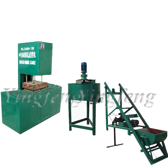 YF168 Semi-auto Concrete roof tile machine